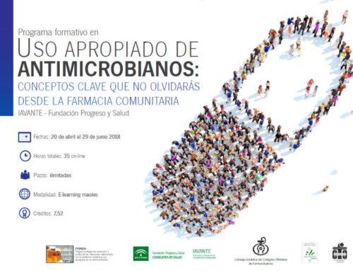 Abierto el plazo de inscripción para la segunda edición del curso sobre antimicrobianos que promueven CACOF y PIRASOA