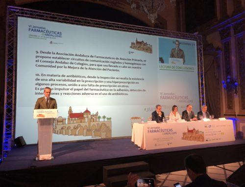 Conclusiones de las VI Jornadas Farmacéuticas Andaluzas