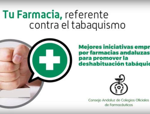 El CACOF reconoce la mejor iniciativa contra el tabaquismo de las farmacias de Andalucía