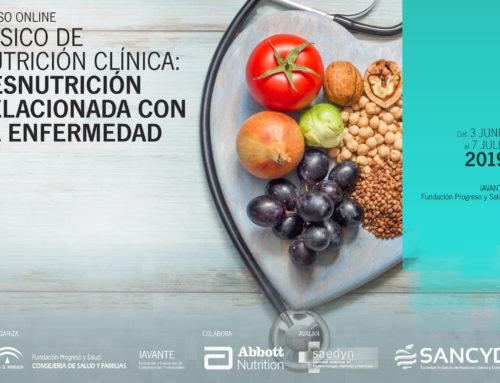 Se convoca Curso Básico de Nutrición Clínica: Desnutrición Relacionada con la Enfermedad