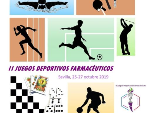 El CACOF apoya los II Juegos Deportivos Farmacéuticos, que se celebrarán en Sevilla a finales de octubre