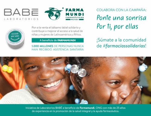 Farmamundi anima a las farmacias andaluzas a colaborar con su campaña de bálsamos labiales solidarios