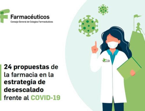 Las farmacias proponen al Ministerio de Sanidad un plan para aumentar la seguridad y la asistencia a los pacientes durante la desescalada