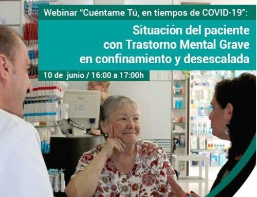 Webinar sobre el Paciente con Trastorno Mental en confinamiento y desescalada
