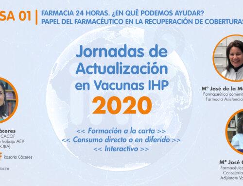 El CACOF, presente en las Jornadas virtuales de actualización en Vacunas IHP