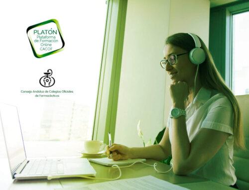 La plataforma PLATÓN se moderniza para potenciar y ampliar la formación online de los farmacéuticos andaluces