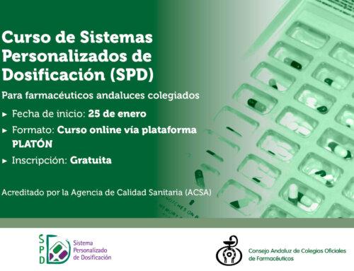 El CACOF organiza un nuevo curso online de SPD para formar y acreditar a los farmacéuticos andaluces
