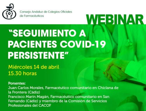 Campaña sobre seguimiento a pacientes con COVID-19 persistente