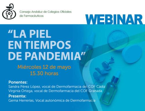 Webinar Formativo «La piel en tiempos de pandemia»