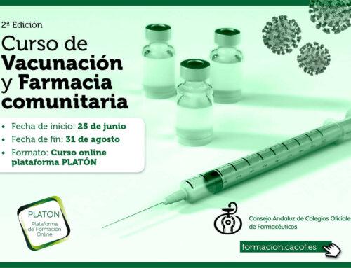 """Se pone en marcha la 2º edición del Curso """"Vacunación y Farmacia Comunitaria"""""""