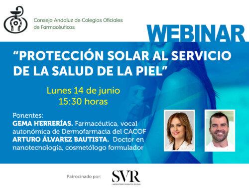 Nuevo webinar formativo «La protección solar al servicio de la salud de la piel»