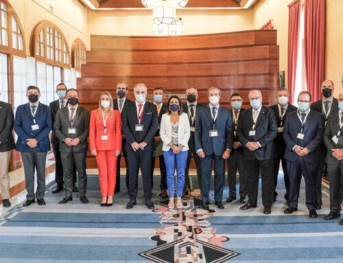 La presidenta del Parlamento de Andalucía recibe al Comité Ejecutivo del CACOF con motivo del Día Mundial del Farmacéutico