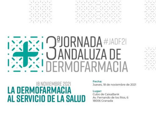 Abierto el plazo de inscripción para la 3ª Jornada Andaluza de Dermofarmacia